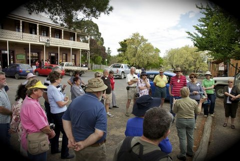Town Tour with NPWS guide Sandra Thompson