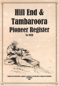 Hill End & Tambaroora Pioneer Register