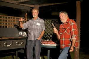 BBQ Chefs Dennis and Rod