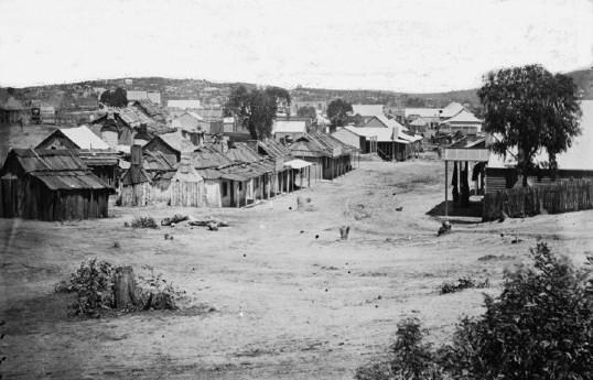 Clarke St Hill End 1872