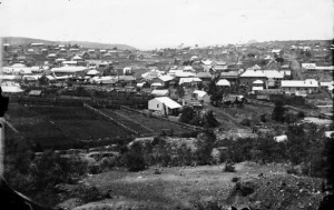 The village from Sargents Hill 1872