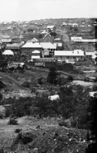 Village view from Sargents Hill 1872