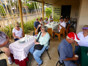 Afternoon Tea on the verandah