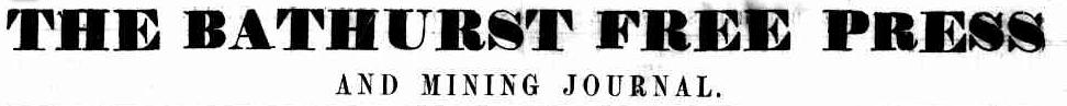 Bathurst Free Press