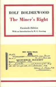 Miners Right Cover