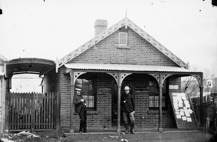 Mining Registrars Office 1872