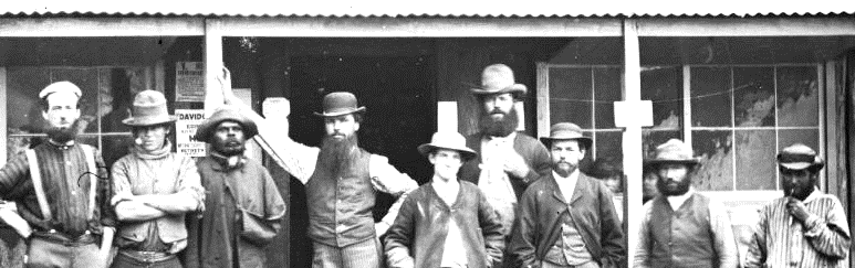 How many nationalities are represented here? - Government commissioner's office at Turon-Macquarie Junction, Hill End ON 4 Box 11 No 70262 Digital order no: a2822961 State Library of NSW